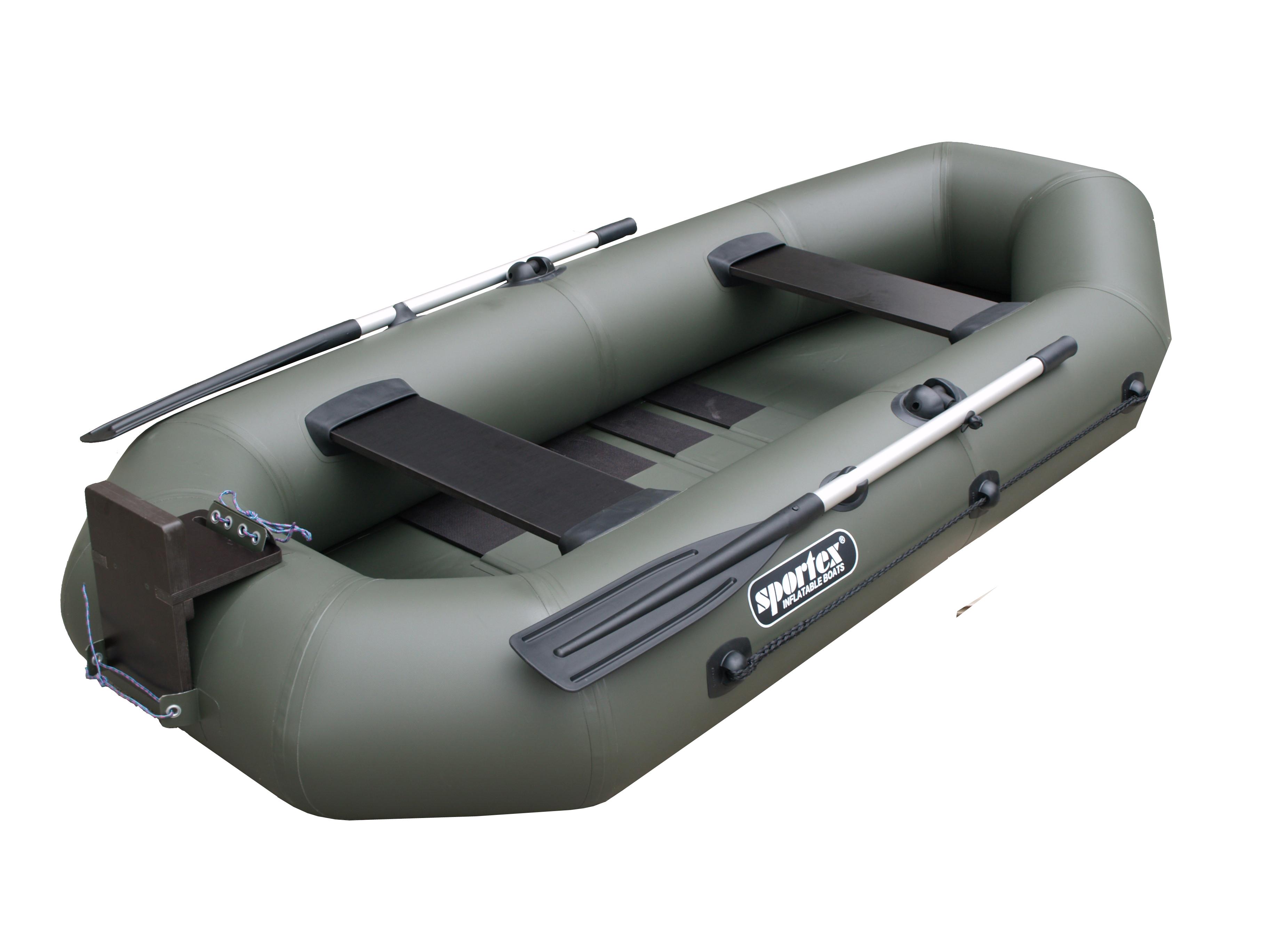 schlauchboot sportex delta 260 sl gr n. Black Bedroom Furniture Sets. Home Design Ideas